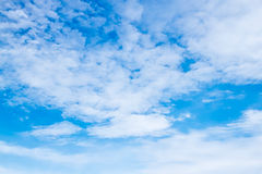 Beautiful sky Stock Photography
