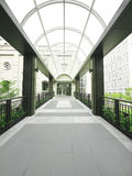 Beautiful skybridge Royalty Free Stock Photography