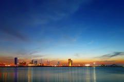 Beautiful skyline of Bahrain, HDR Stock Image