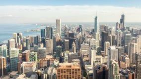 Beautiful skyline of Chicago, Illinois Stock Images