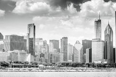 Beautiful skyline of Chicago, Illinois. Stock Photography