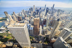 Beautiful skyline of Chicago, Illinois. Royalty Free Stock Photography