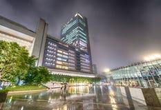 Beautiful skyline of Osaka at night Royalty Free Stock Photography