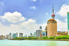 Beautiful skyscrapers, city building of Pudong Stock Photography