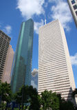 Beautiful skyscrapers of Houston. It is beautiful skyscrapers of downtown Houston,Texas Stock Images