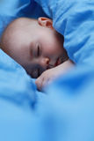Beautiful sleeping baby Stock Image