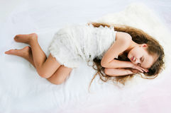 Beautiful sleeping girl Royalty Free Stock Photo