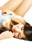 Beautiful sleeping woman Royalty Free Stock Photo