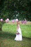 Beautiful slender girl Royalty Free Stock Image