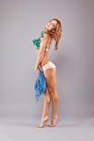 Beautiful slender woman. Stock Photo