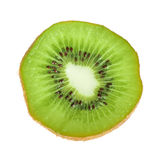 Beautiful slice of fresh juicy kiwi Royalty Free Stock Images