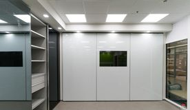 Beautiful sliding door closets Royalty Free Stock Images