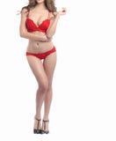 Beautiful slim body of woman Stock Photo