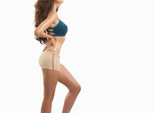 Beautiful slim body of woman Stock Photography
