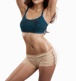 Beautiful slim body of woman Stock Image