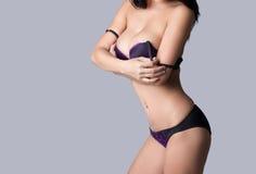 Beautiful slim body of woman Royalty Free Stock Image
