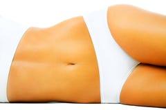 Beautiful slim female body Royalty Free Stock Images