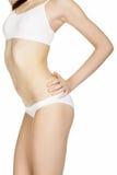 Beautiful slim female body Royalty Free Stock Photos