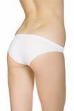 Beautiful slim female body in underwear Royalty Free Stock Image