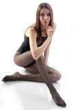Beautiful slim girl Royalty Free Stock Photography