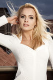 Beautiful slim sexy young woman Royalty Free Stock Photos