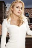 Beautiful slim sexy young woman Stock Photo