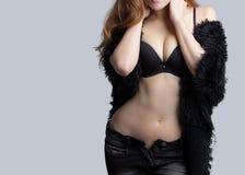 Beautiful slim woman body Stock Image
