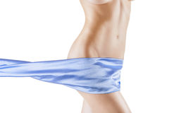 Beautiful slim womans body Stock Photo