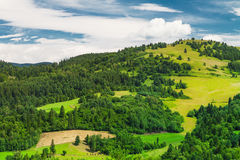 Beautiful Slovak mountain landscape Stock Image
