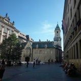 Beautiful Slovakia. Bratislava spring people vacation royalty free stock image