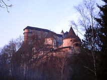 Beautiful Slovakia castle. Orava Castle, Beautiful Slovakia castle royalty free stock image