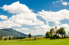 Beautiful Slovenian landscape Royalty Free Stock Photo