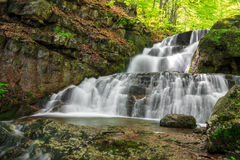 Beautiful small cascade Stock Image