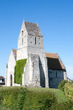 Beautiful small church in Normandy France. Royalty Free Stock Photos