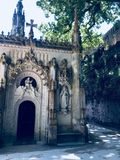 Small church. Beautiful small church in Sintra, Portugal Stock Images