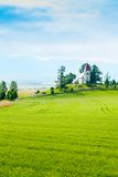 Beautiful small church in Slovakia Royalty Free Stock Images