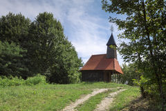 Beautiful small church Royalty Free Stock Image