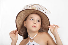 Beautiful small girl Royalty Free Stock Photo