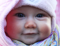 Beautiful small girl Stock Photography