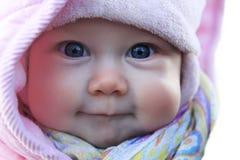 Beautiful small girl Stock Photos