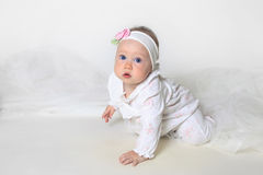 Beautiful small girl Royalty Free Stock Photography