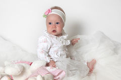 Beautiful small girl Stock Photo