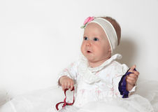 Beautiful small girl Stock Image