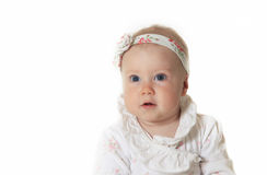 Beautiful small girl Stock Images