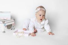 Beautiful small girl Royalty Free Stock Image