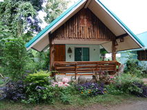 Beautiful small house. Is in Loei Airport Homestay , Loei province, Thailand Stock Photography