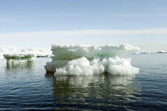 Beautiful small  icebergs in Antarctica Royalty Free Stock Photo