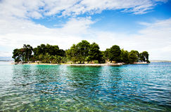Beautiful small island in Croatia Stock Photography