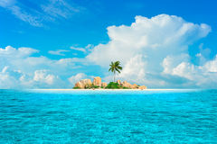 Dream Island Royalty Free Stock Photography