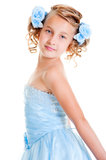 Beautiful small princess Royalty Free Stock Images